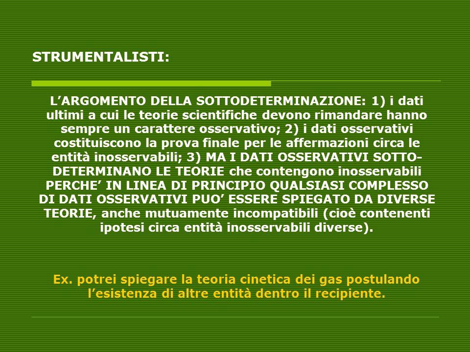 STRUMENTALISTI: