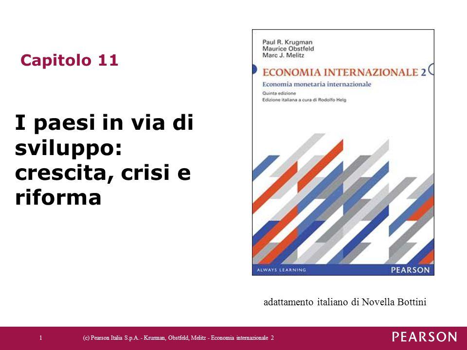 I paesi in via di sviluppo: crescita, crisi e riforma