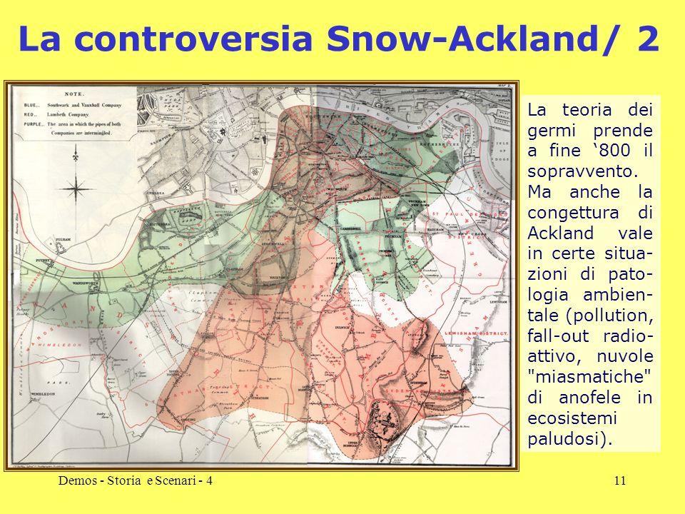 La controversia Snow-Ackland/ 2