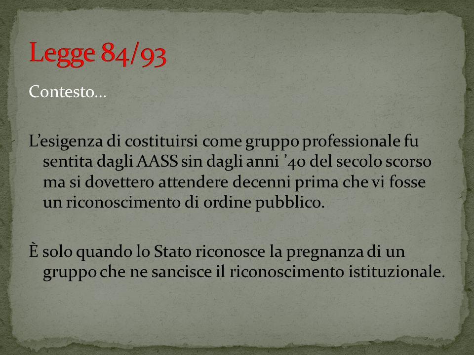 Legge 84/93