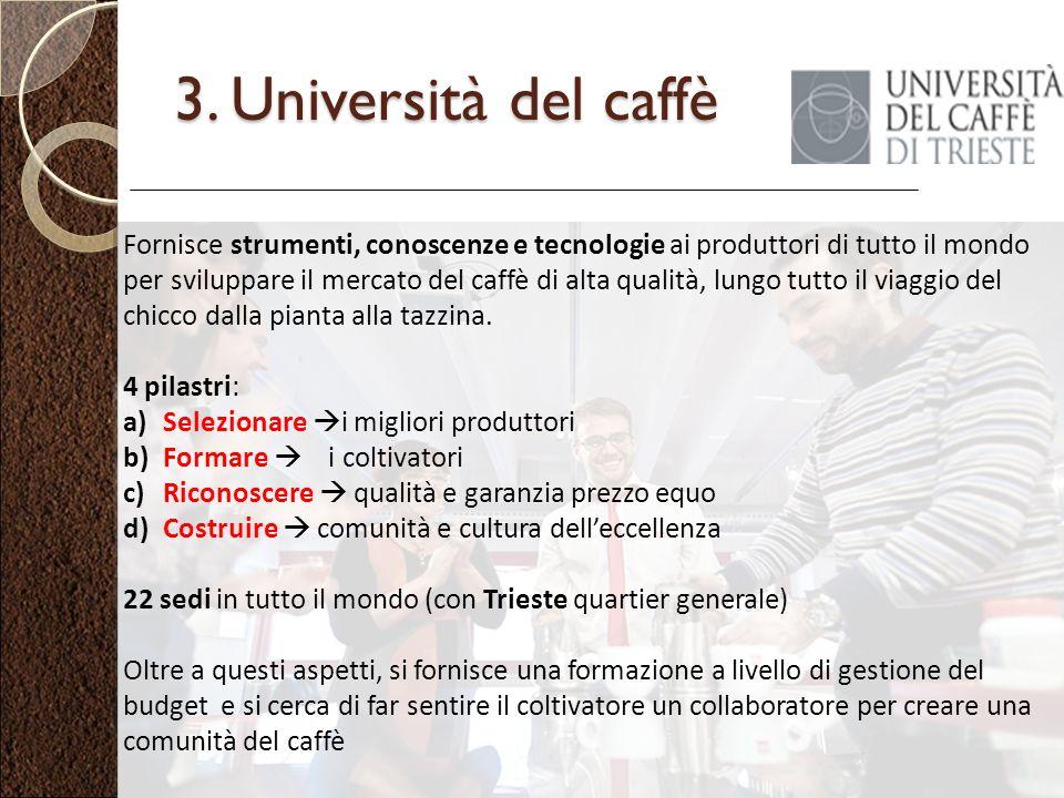 3. Università del caffè
