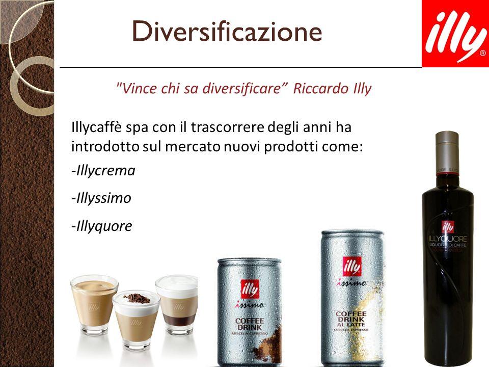 Diversificazione Vince chi sa diversificare Riccardo Illy