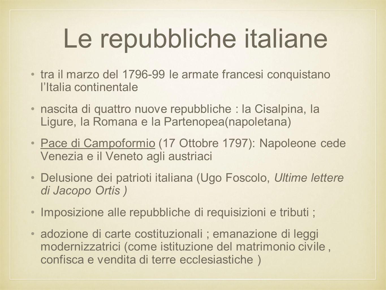Le repubbliche italiane