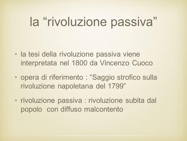 la rivoluzione passiva