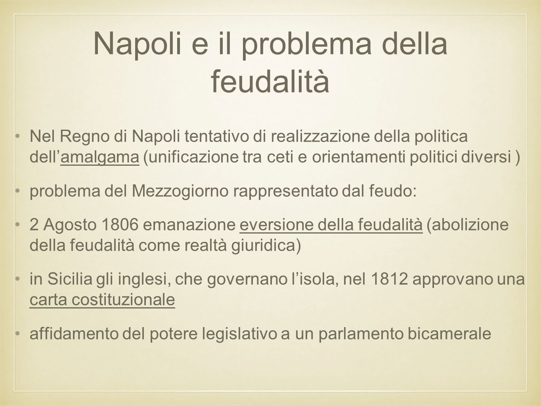 Napoli e il problema della feudalità