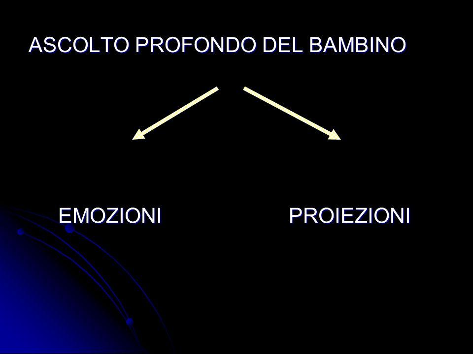ASCOLTO PROFONDO DEL BAMBINO