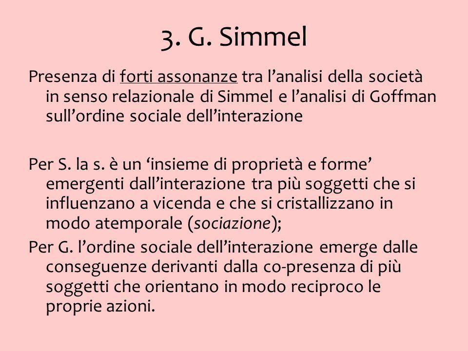 3. G. Simmel