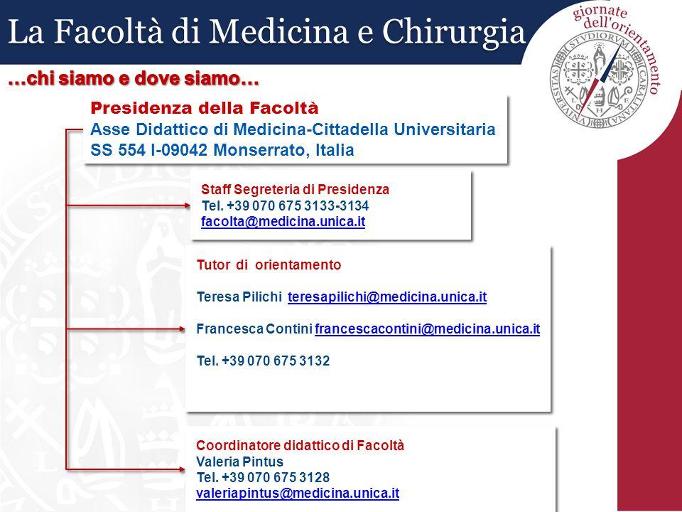 La Facoltà di Medicina e Chirurgia