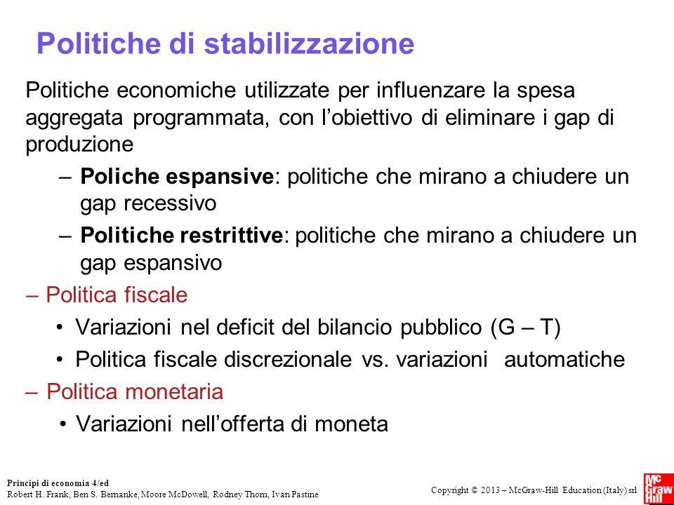 Politiche di stabilizzazione