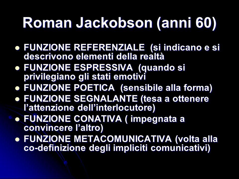 Roman Jackobson (anni 60)