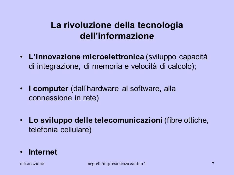 La rivoluzione della tecnologia dell'informazione