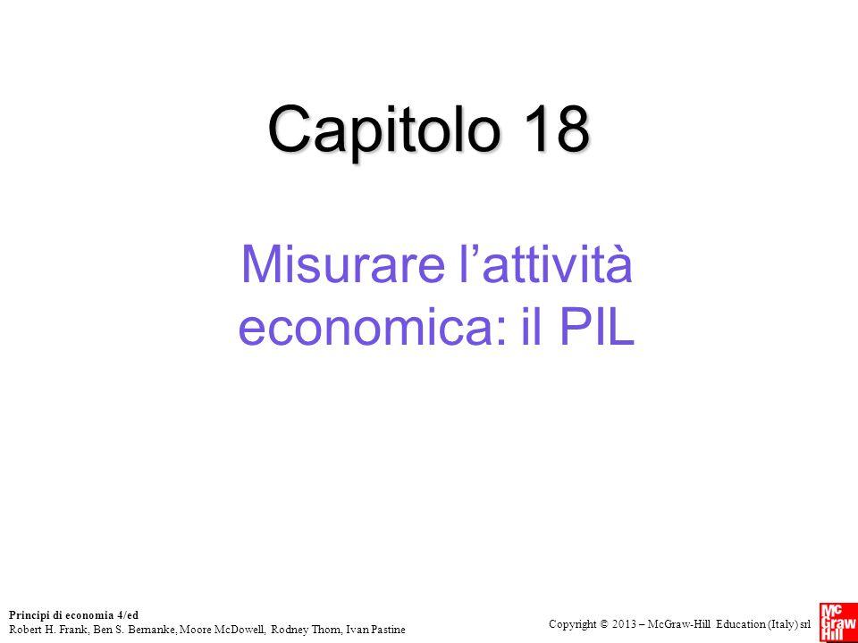 Misurare l'attività economica: il PIL