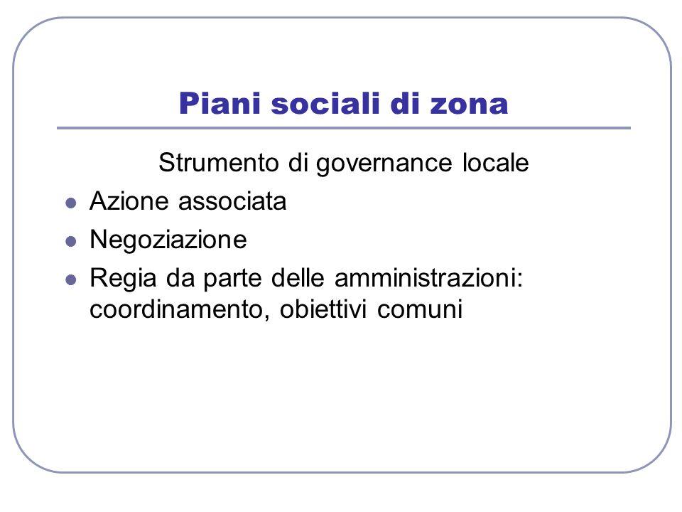 Strumento di governance locale