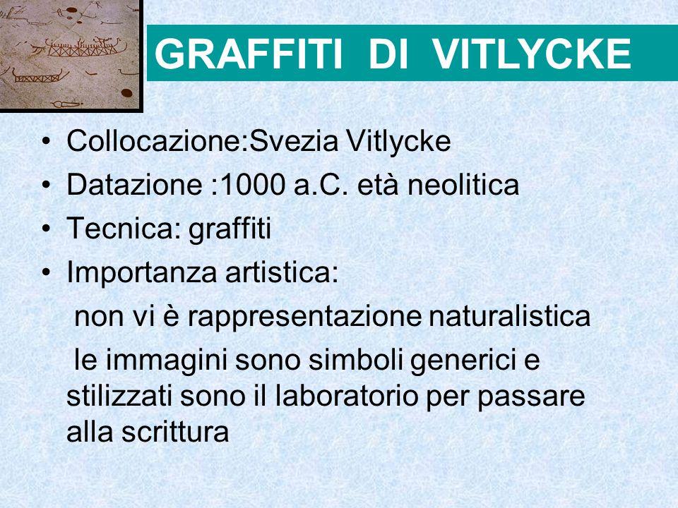 GRAFFITI DI VITLYCKE Collocazione:Svezia Vitlycke