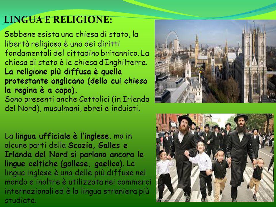 LINGUA E RELIGIONE: