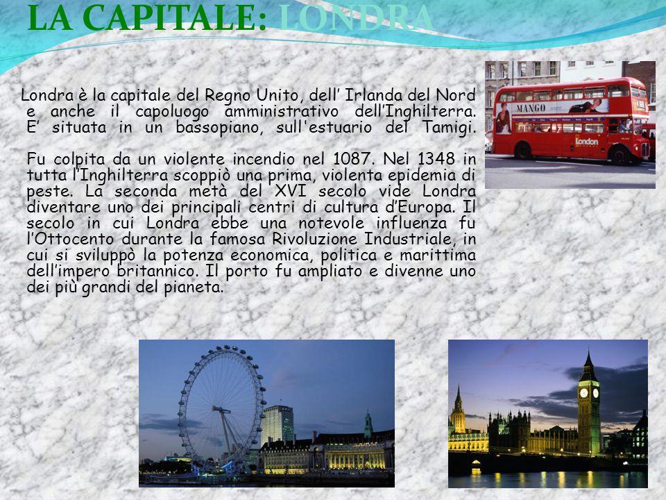 LA CAPITALE: LONDRA