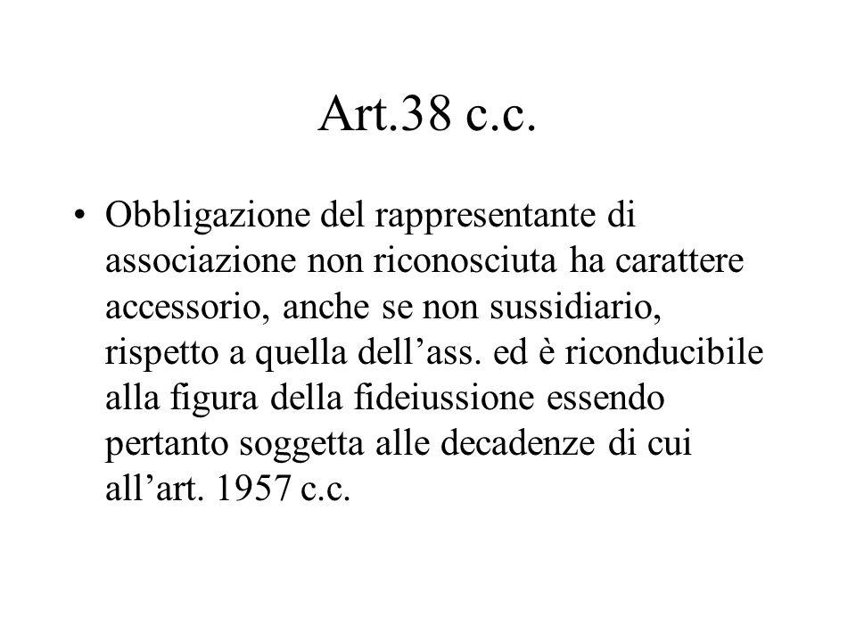 Art.38 c.c.