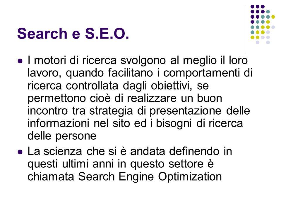 Search e S.E.O.