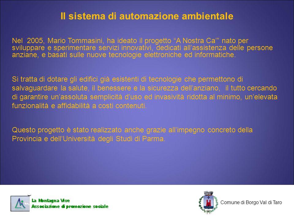 Il sistema di automazione ambientale