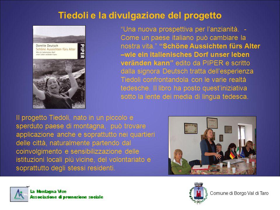 Tiedoli e la divulgazione del progetto