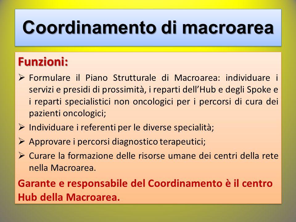 Coordinamento di macroarea