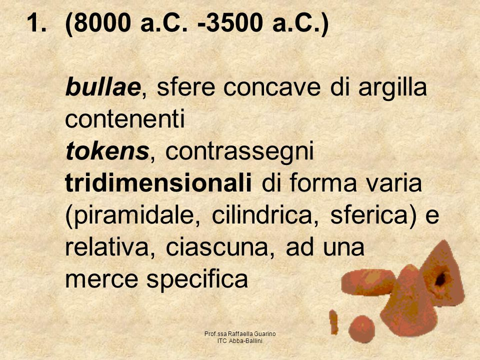 Prof.ssa Raffaella Guarino ITC Abba-Ballini