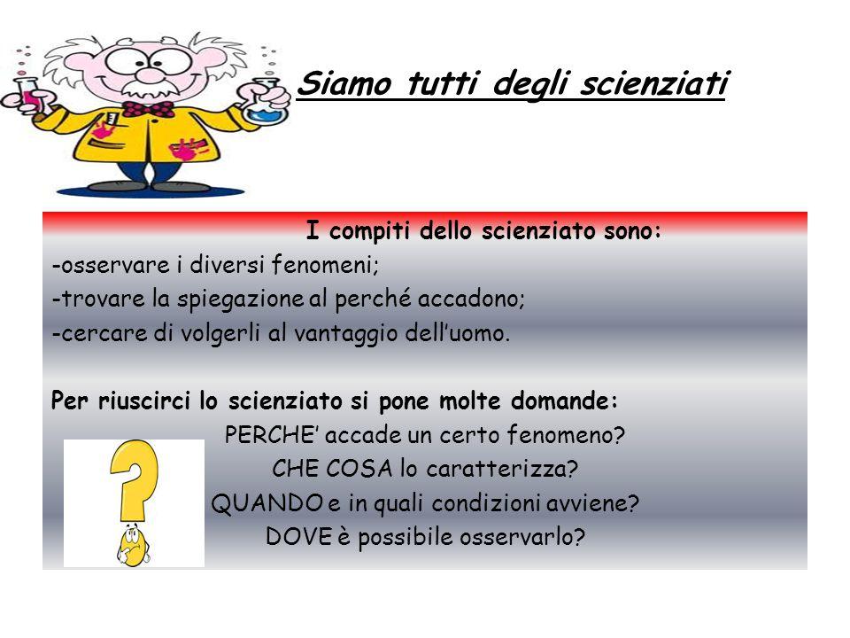 Siamo tutti degli scienziati