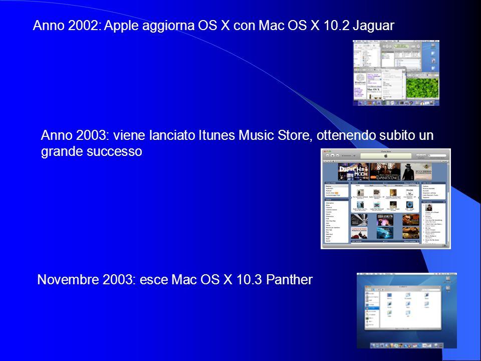 Anno 2002: Apple aggiorna OS X con Mac OS X 10.2 Jaguar