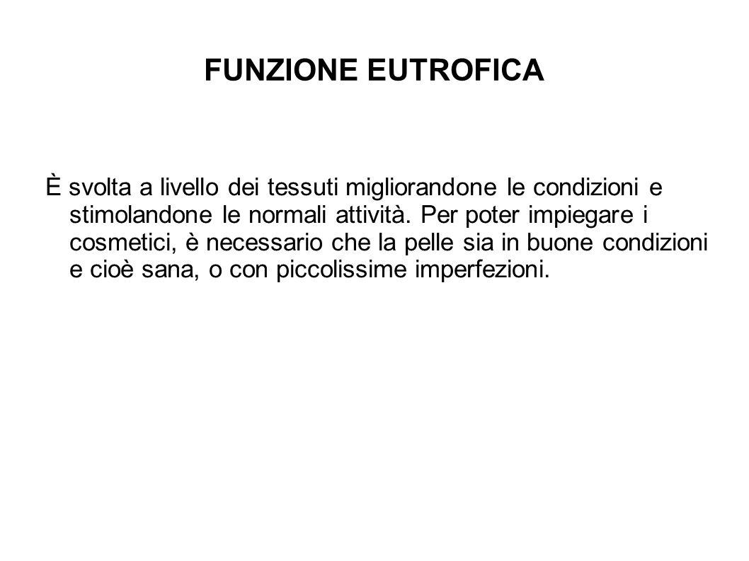 FUNZIONE EUTROFICA