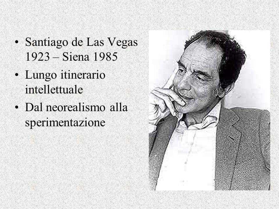 Santiago de Las Vegas 1923 – Siena 1985
