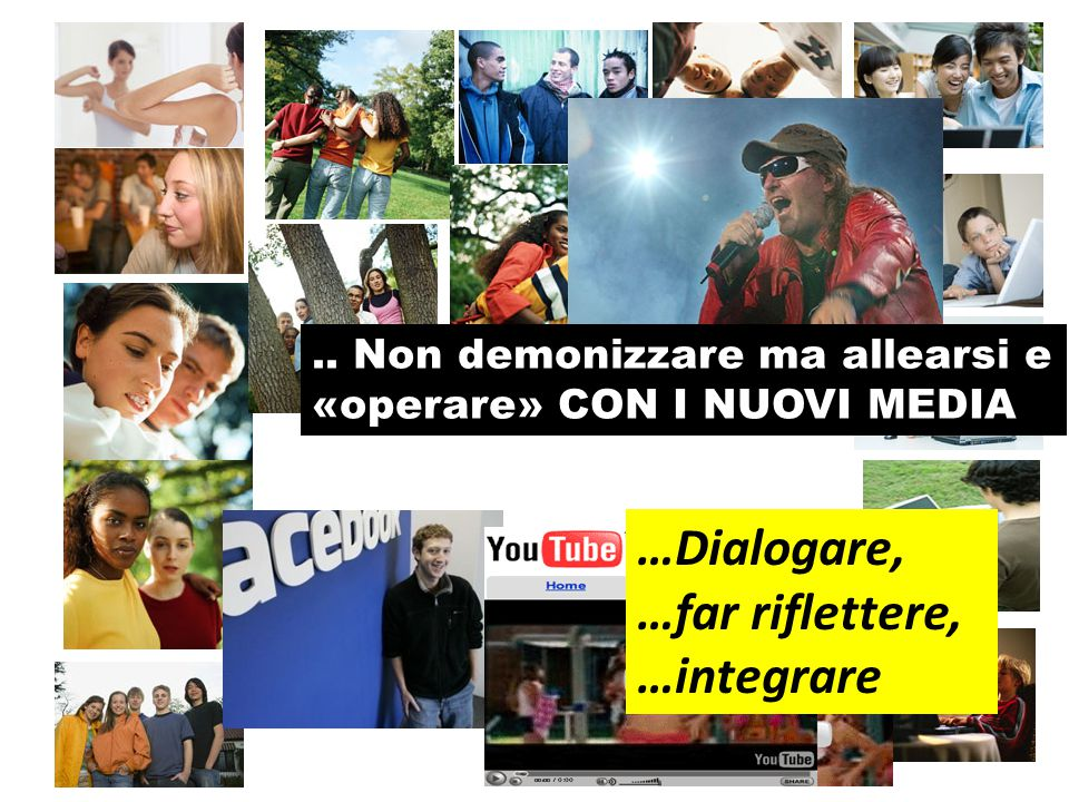 …far riflettere, …integrare