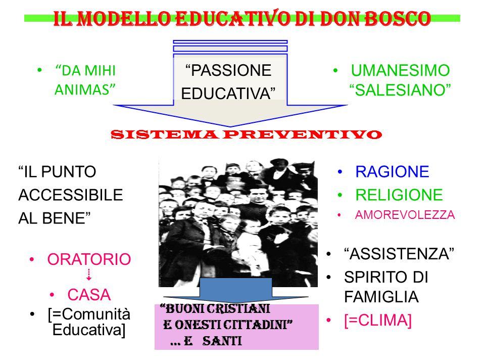 il modello educativo di don Bosco