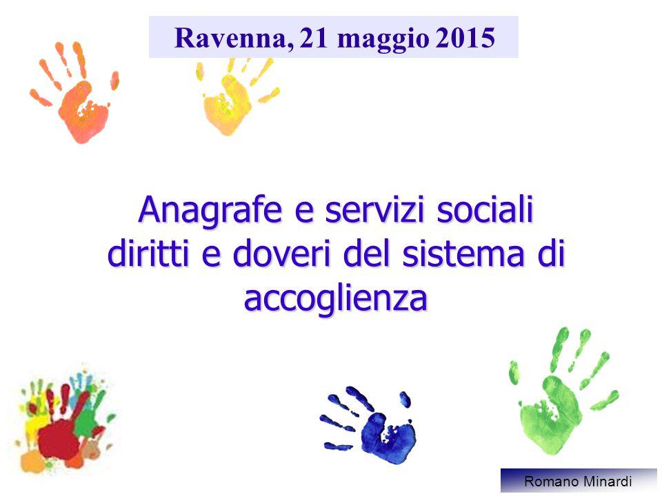 Anagrafe e servizi sociali diritti e doveri del sistema di accoglienza