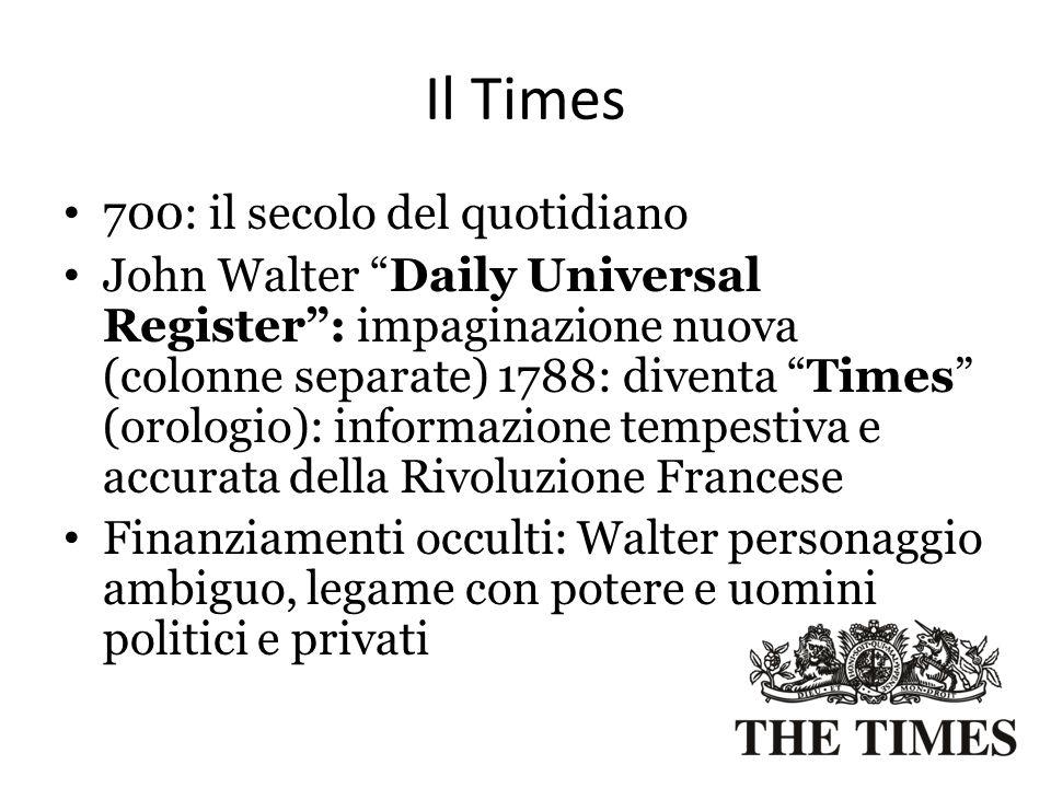 Il Times 700: il secolo del quotidiano