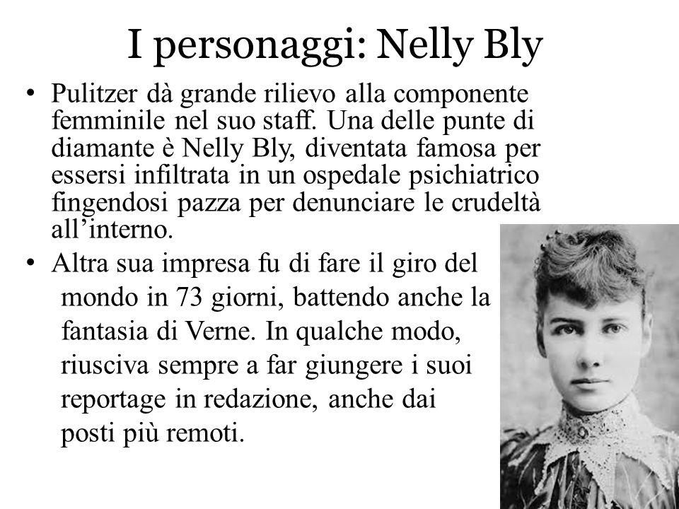 I personaggi: Nelly Bly
