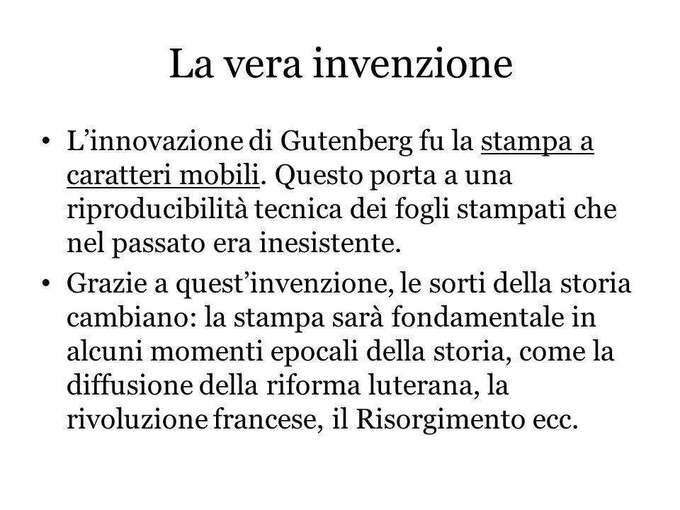 La vera invenzione