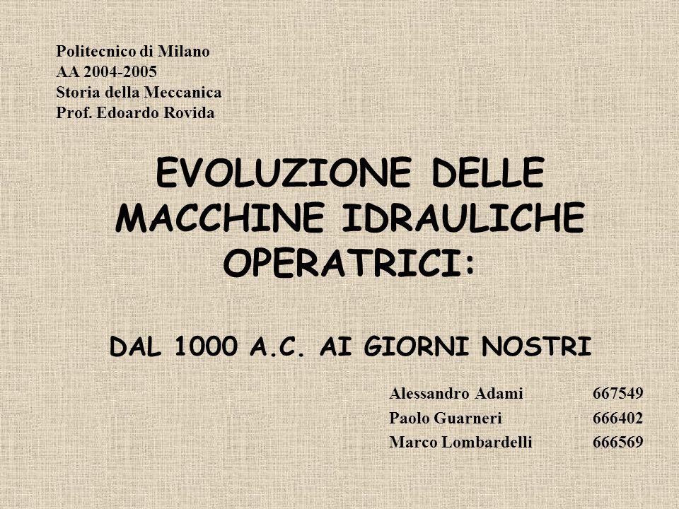 Alessandro Adami 667549 Paolo Guarneri 666402 Marco Lombardelli 666569