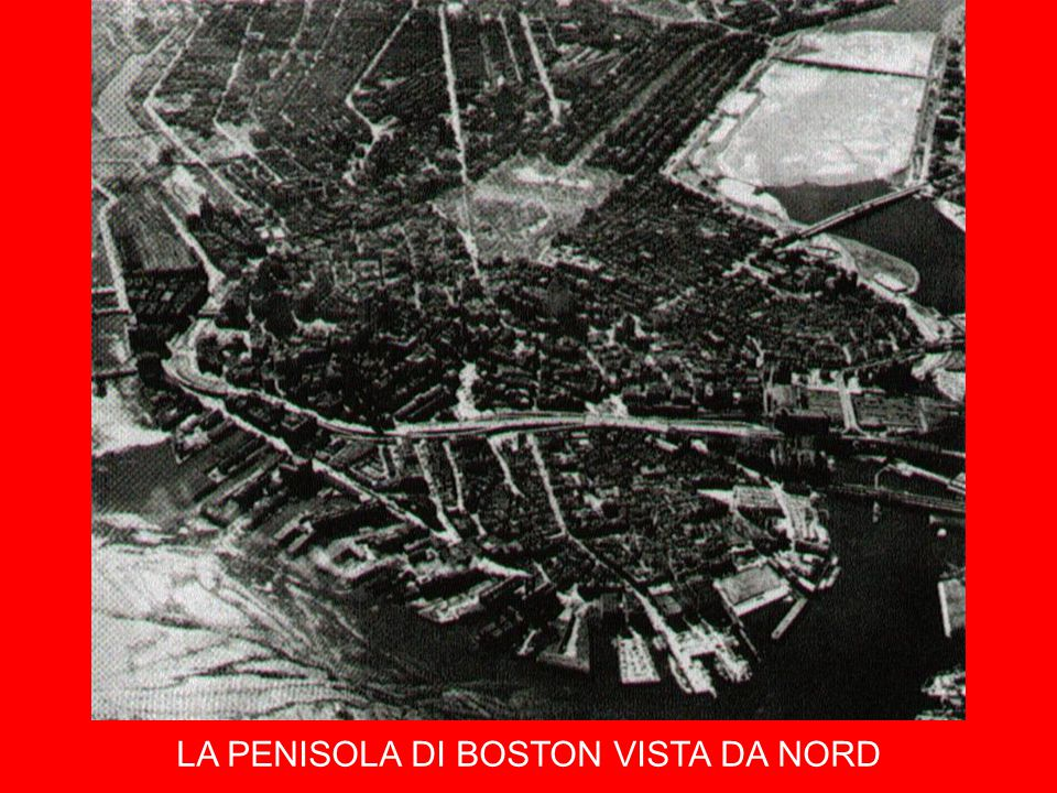 LA PENISOLA DI BOSTON VISTA DA NORD