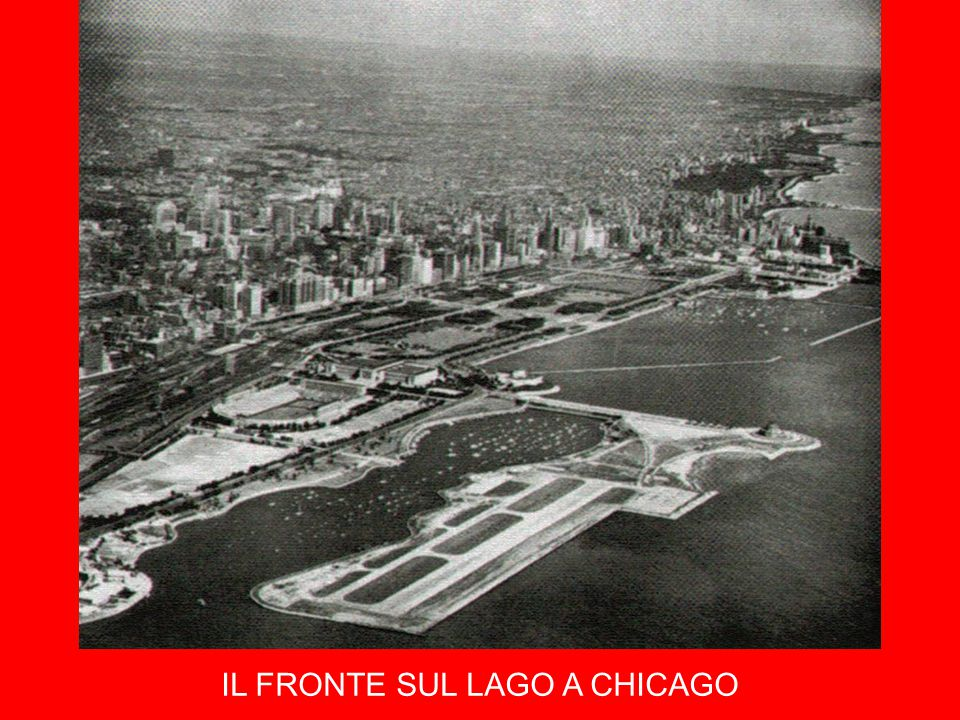 IL FRONTE SUL LAGO A CHICAGO