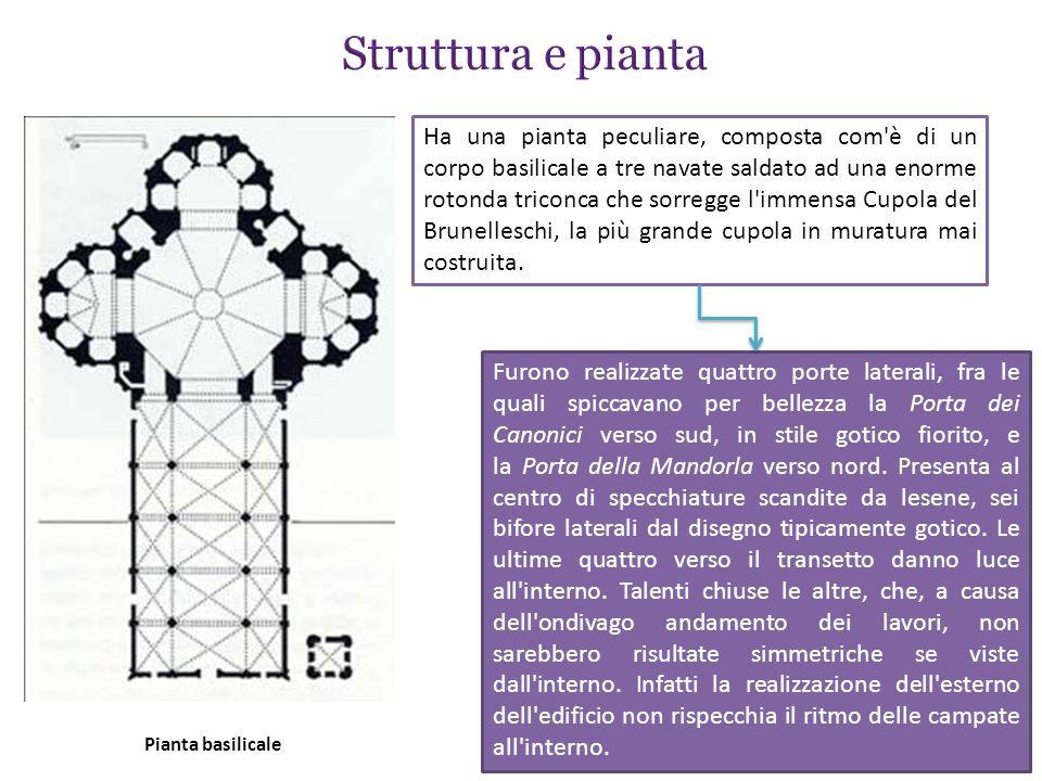 Struttura e pianta