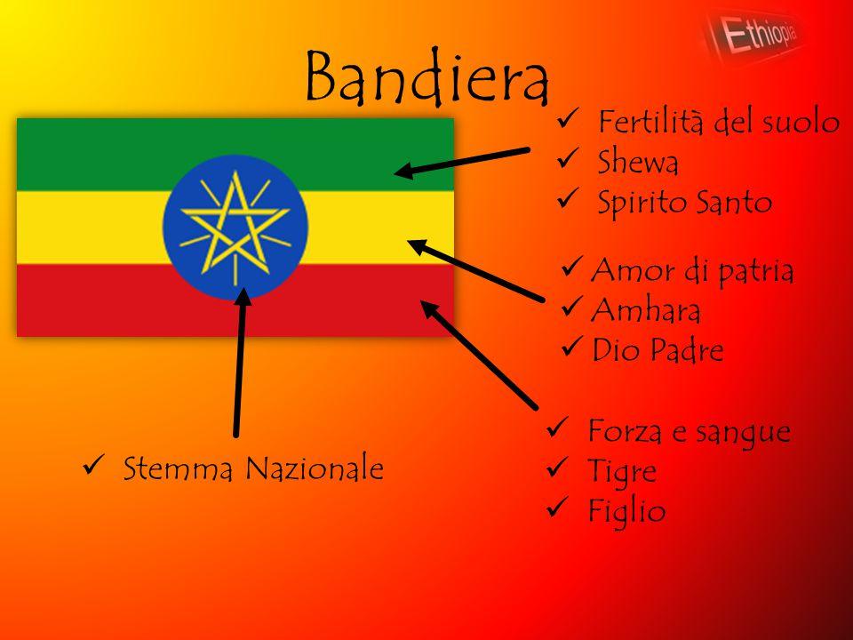 Bandiera Fertilità del suolo Shewa Spirito Santo Amor di patria Amhara