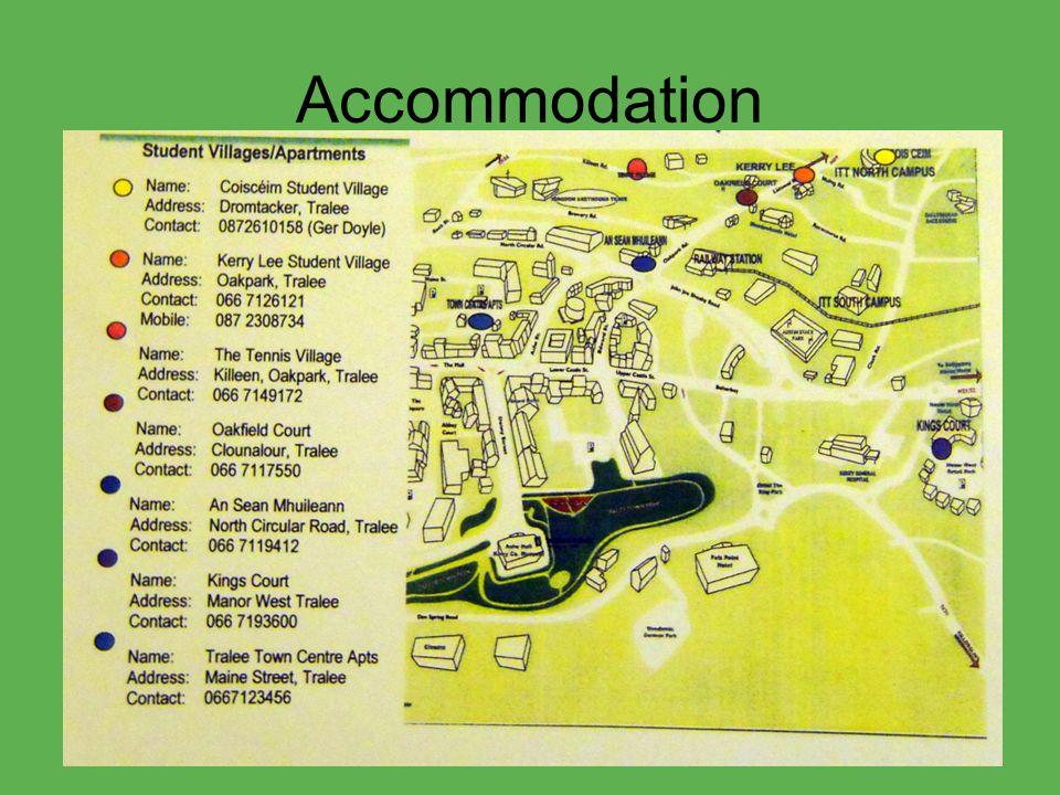 Accommodation An Sean Mhuillan TTCA