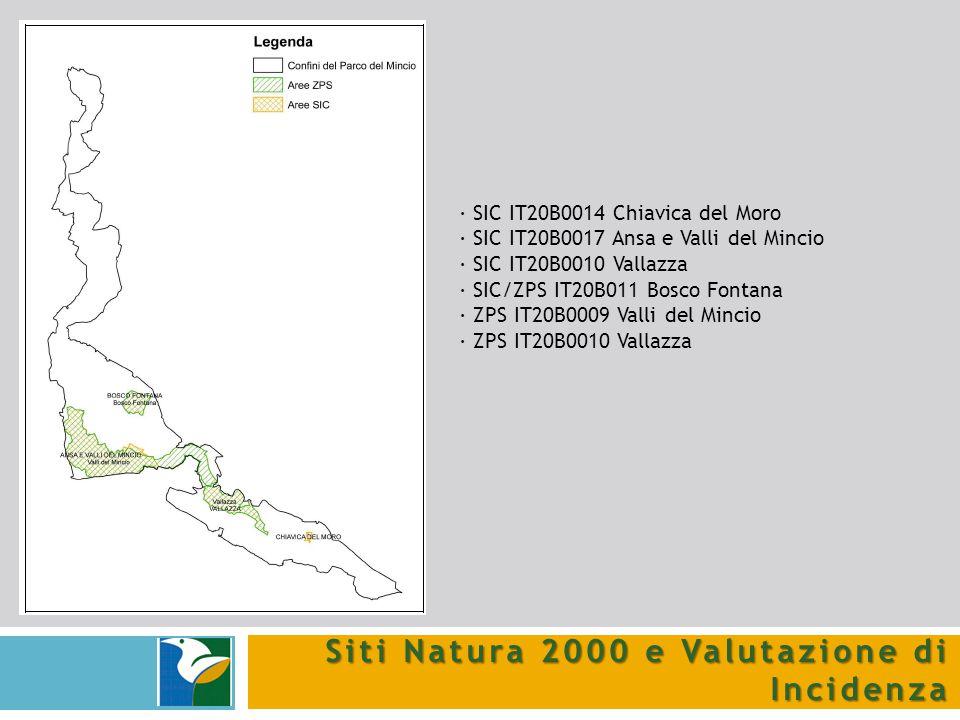 Siti Natura 2000 e Valutazione di Incidenza
