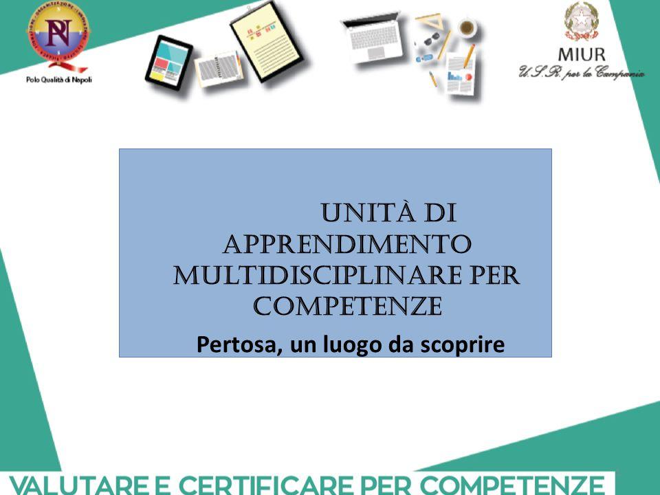 Unità di apprendimento multidisciplinare per competenze
