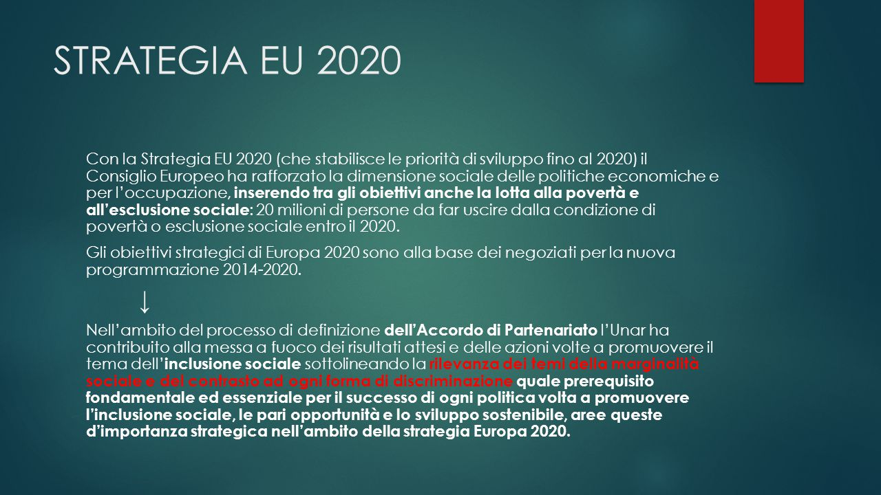 STRATEGIA EU 2020