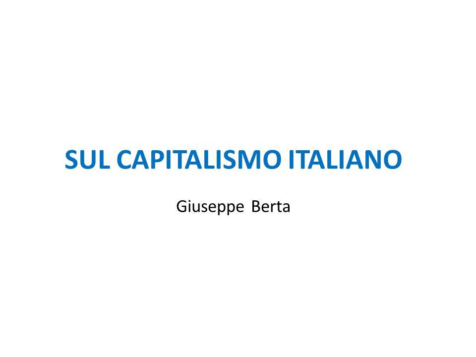 SUL CAPITALISMO ITALIANO