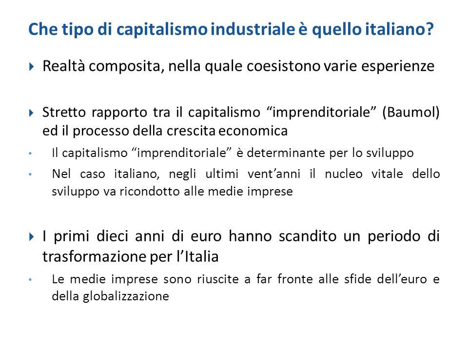 Che tipo di capitalismo industriale è quello italiano