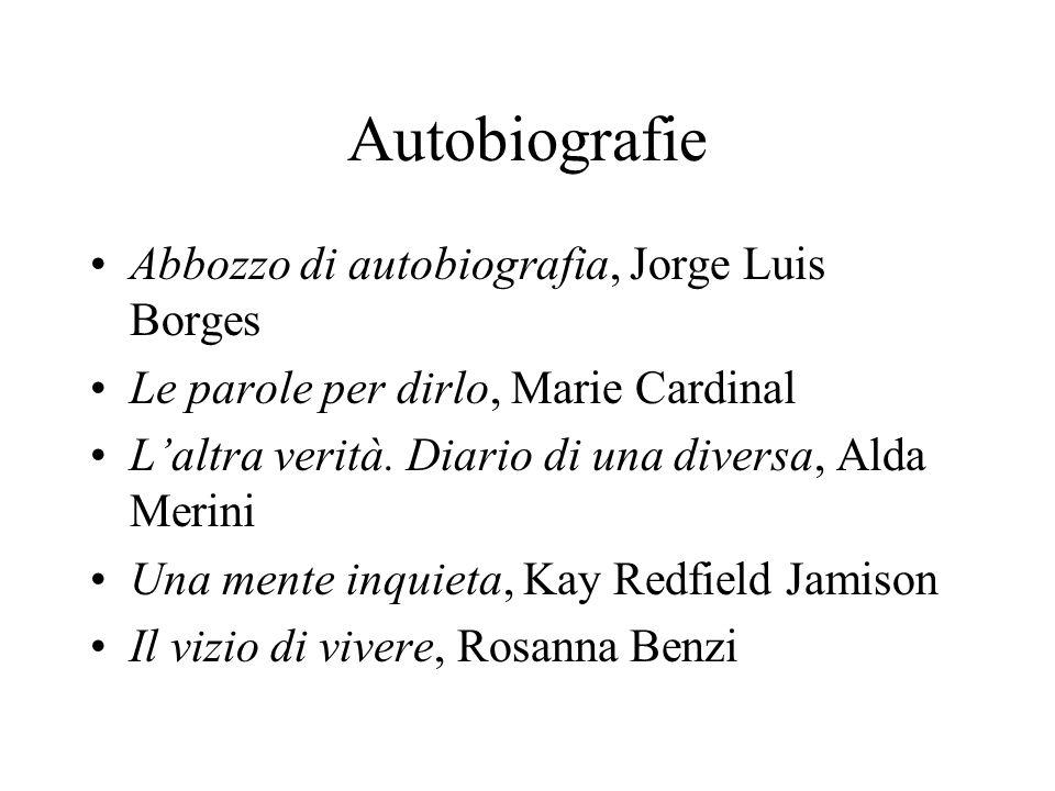 Autobiografie Abbozzo di autobiografia, Jorge Luis Borges