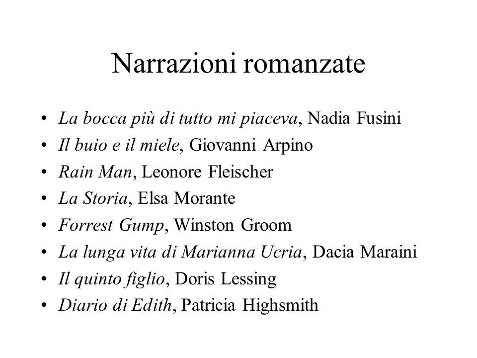 Narrazioni romanzate La bocca più di tutto mi piaceva, Nadia Fusini