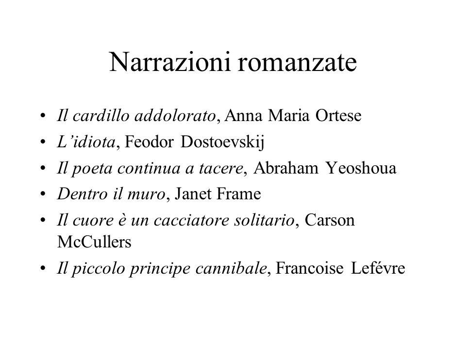 Narrazioni romanzate Il cardillo addolorato, Anna Maria Ortese